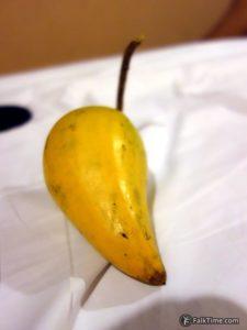 Canistel or egg fruit