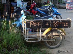 Motorbike taxi in Koh Chang
