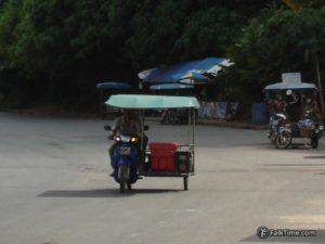 Motorbike taxi in Krabi