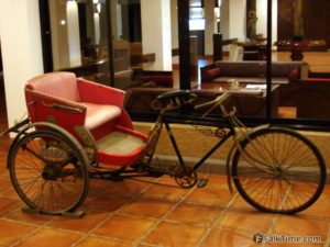 Velo-taxi or samlor