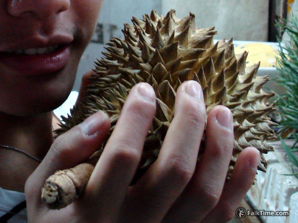 Ripe small durian