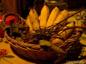 Fruit basket with longan