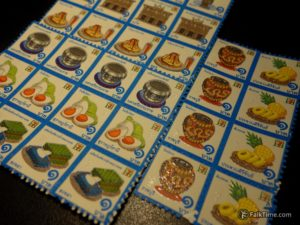 Stamps from 7-Eleven
