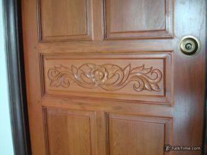Typical Thai door knob