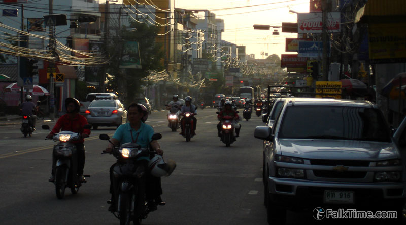 Intra-urban transport in Pattaya