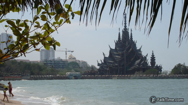 Sanctuary of Truth, view from the beach