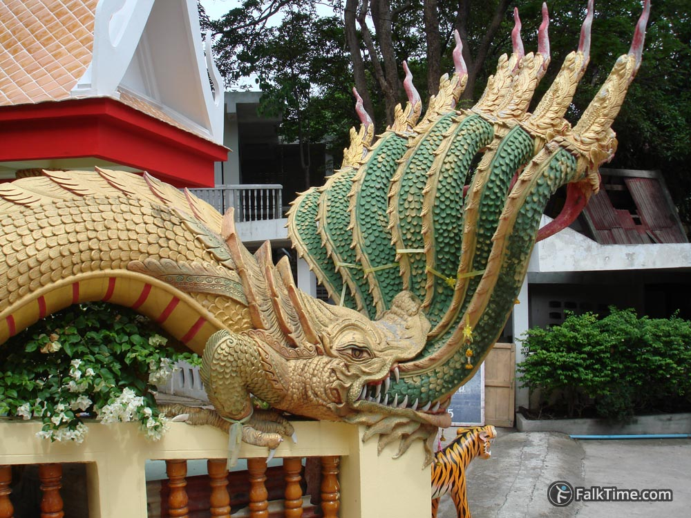 Naga, decoration of stairway