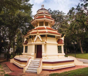 Drum tower of wat Yan