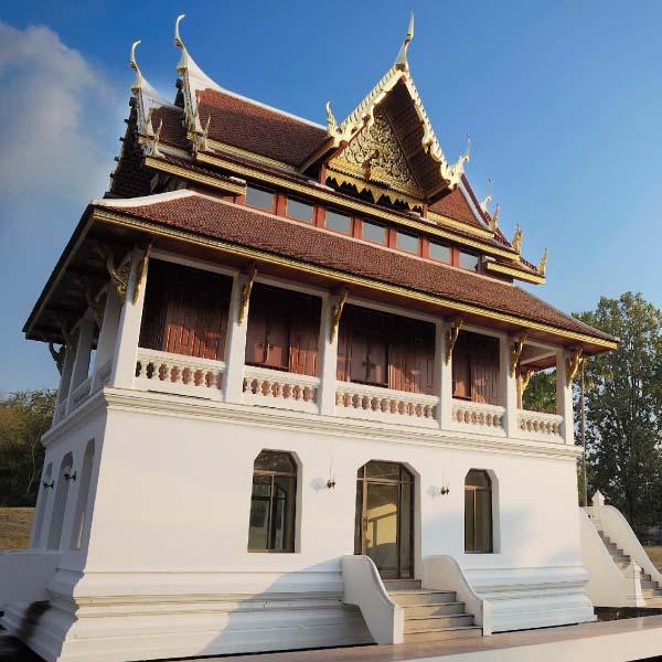 Tripitaka scripture hall in wat Yan