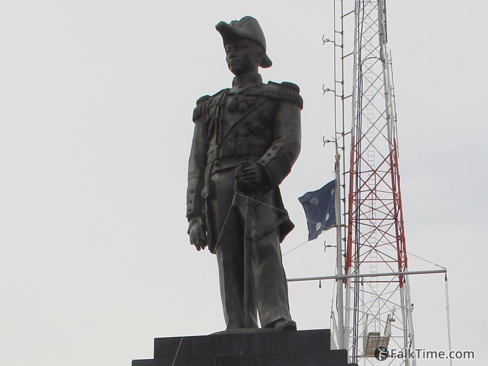 Monument of Aphakorn Kiantiwong