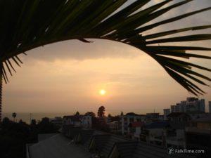 Sunset in Pattaya