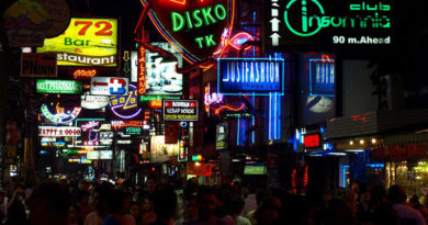 Neon lights of Walking Street