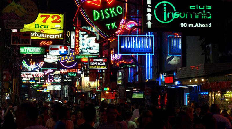Neon lights of Walking Street