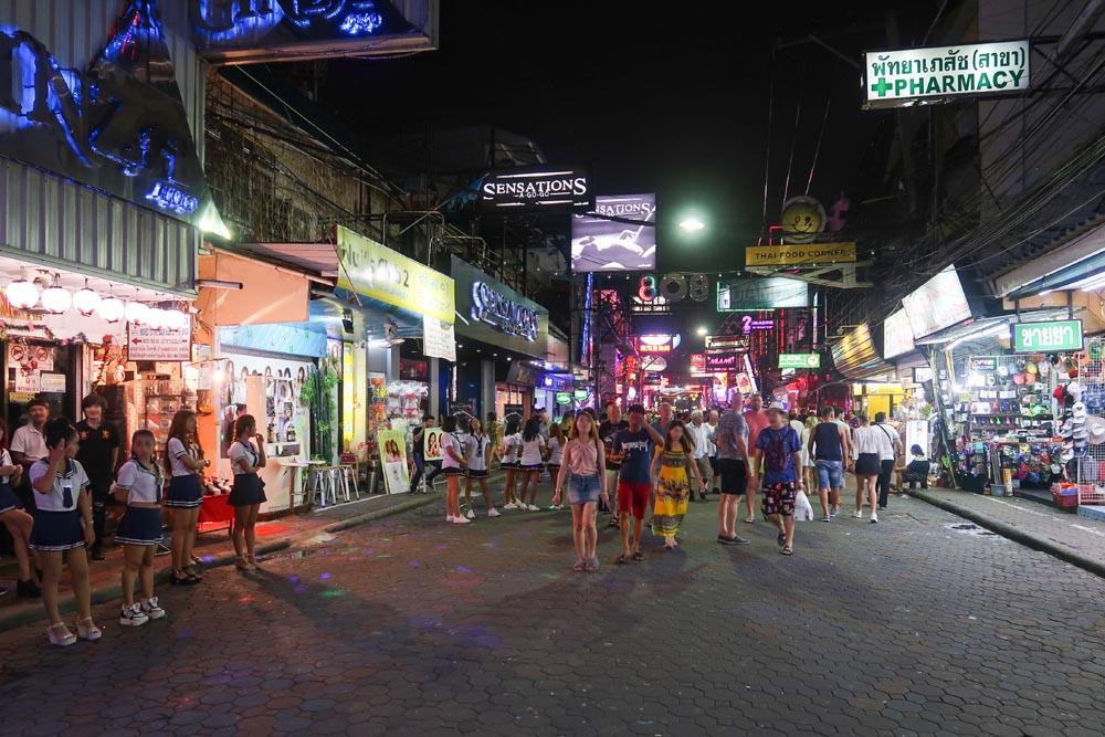 Walking Street in the evening