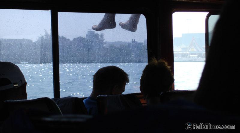 Inside of Pattaya - Ko Larn ferry