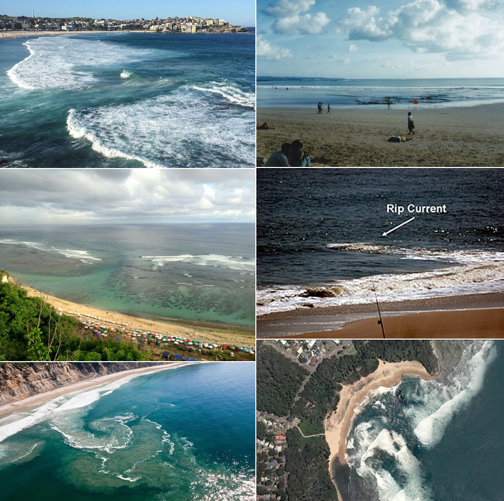 How to define rip current
