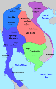 South-East Asia in 1540