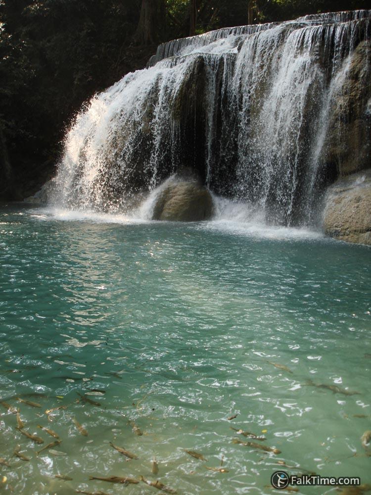 Secon cascade of waterfall