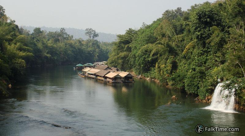 Khwae Noi river & Sai Yok Yai waterfall